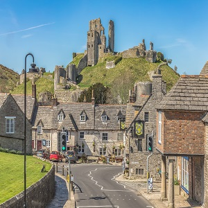 Photo of Corfe Castle