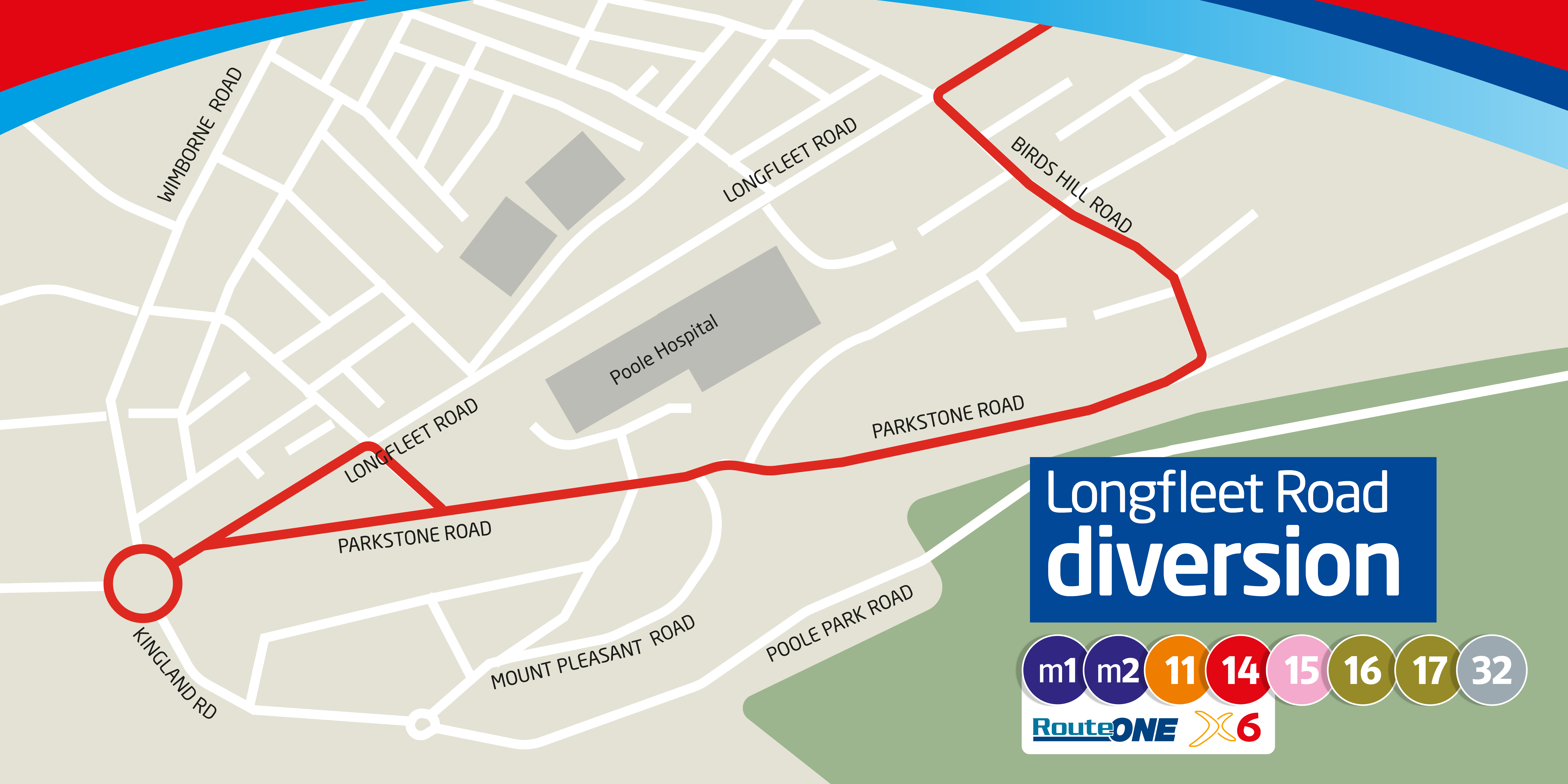 longfleet road map diversion
