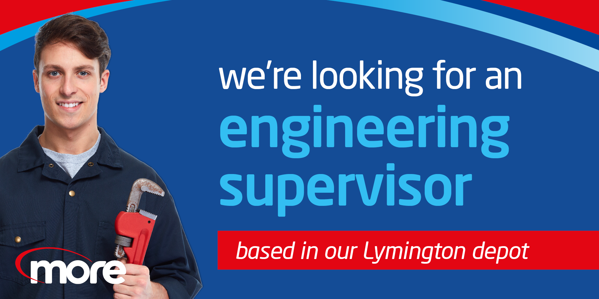 we're looking for an engineering supervisor based in our lymington depot