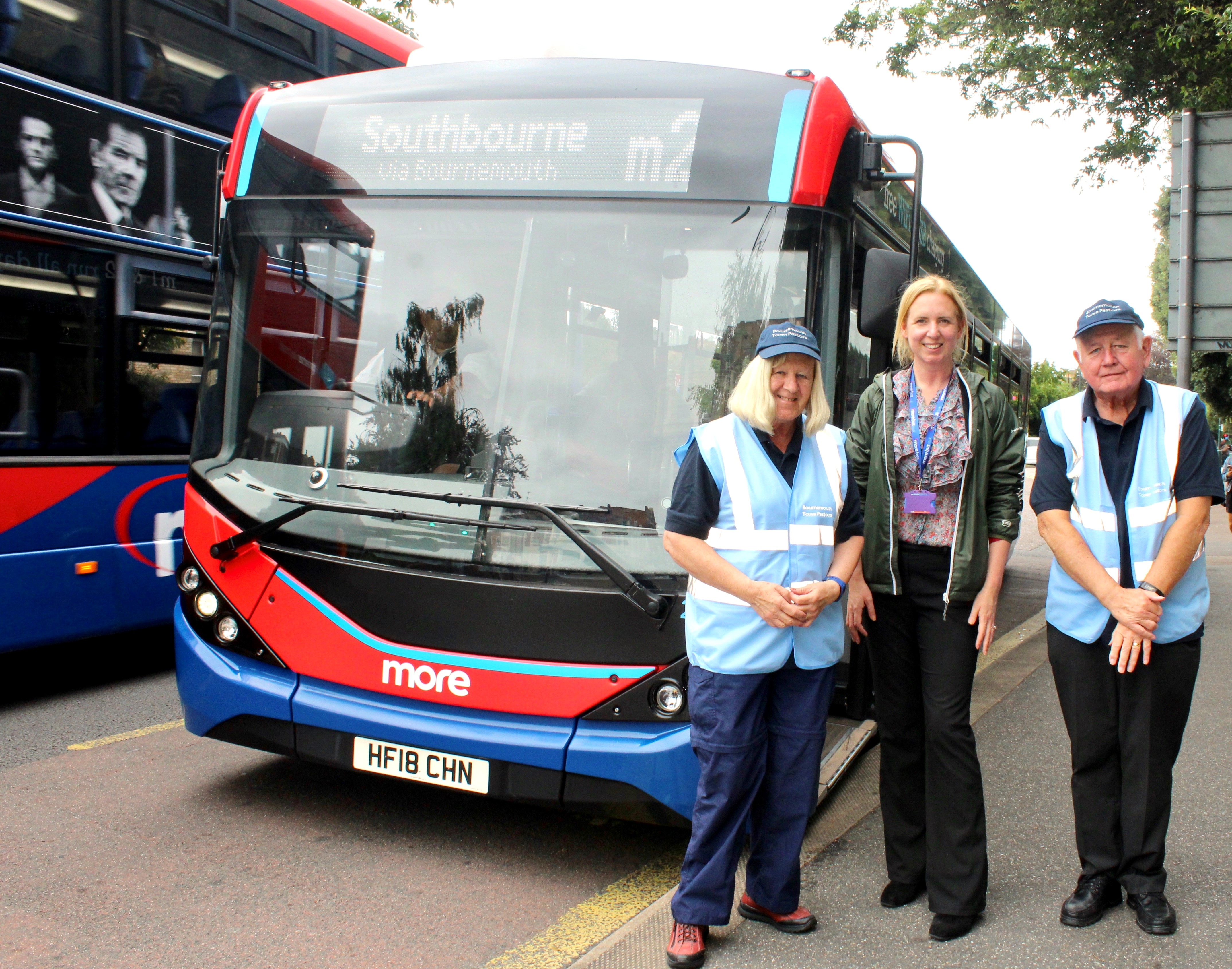 morebus and the bournemouth town pastors partnership